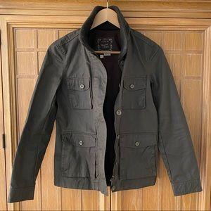 J.Crew Downtown Field Jacket in Mossy Brown XS